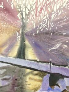 Monika Włoszczyńska watercolor