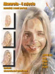 nauka malowania portretów akwarelą