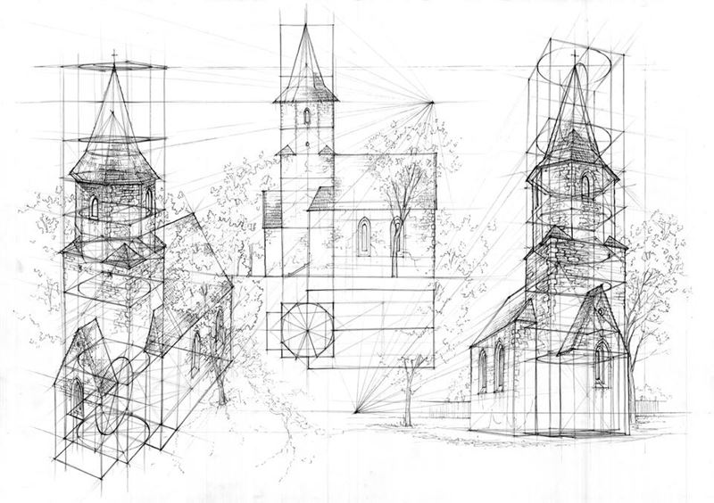 kościół w jerzmankach studium