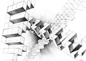 egzamin z rysunku architektura