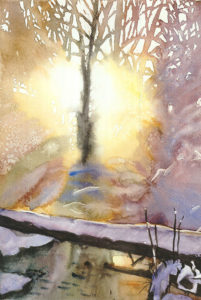 watercolor Magda Romanowska