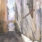 Kurs online akwareli_3 Architektura Miejska_akwarela-eu