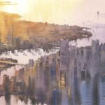 Kurs online akwareli_Architektura Miejska_akwarela-eu